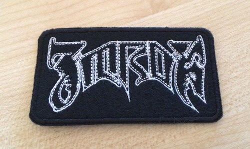 ZMROK - Logo Нашивка Black Metal
