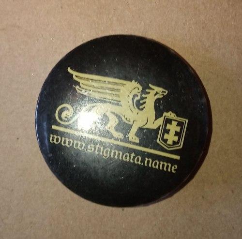 STIGMATA - Logo Pin значок
