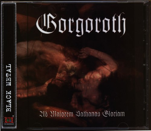 GORGOROTH - Ad Majorem Sathanas Gloriam CD Black Metal