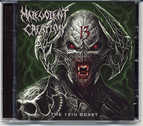 MALEVOLENT CREATION - The 13th Beast CD Death Metal