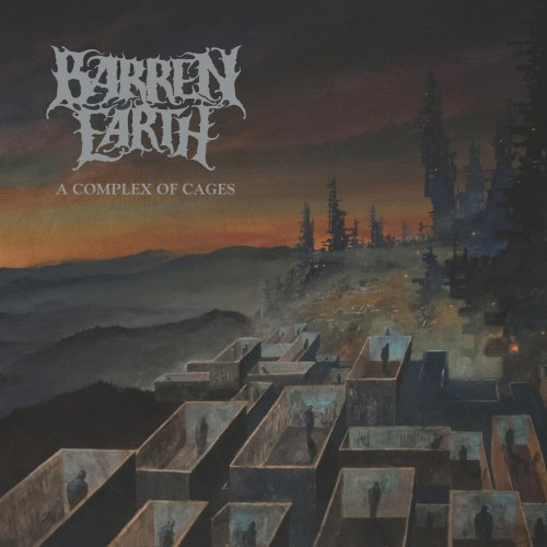 BARREN EARTH - A Complex Of Cages Digi-CD Progressive Death Metal