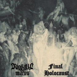 NIGHTLY MASS / FINAL HOLOCAUST - Split CD Black Metal