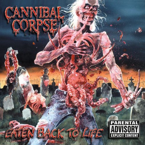 CANNIBAL CORPSE - Eaten Back to Life CD Death Metal