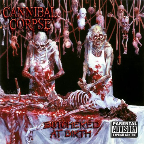 CANNIBAL CORPSE - Butchered at Birth CD Brutal Death Metal