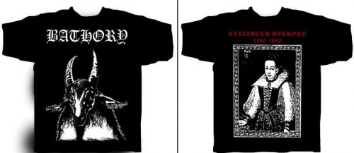 BATHORY - Bathory - XL Майка Blackened Thrash Metal