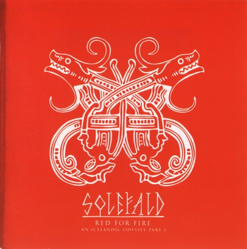SOLEFALD - Red For Fire - An Icelandic Odyssey Part I CD Nordic Metal