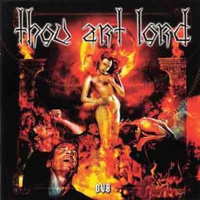 THOU ART LORD - DV8 (с автографом) CD Blackened Metal