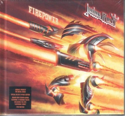 JUDAS PRIEST - Firepower Digi-CD Heavy Metal