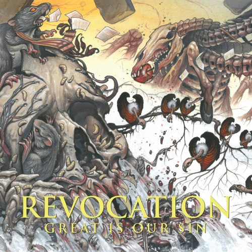 REVOCATION - Great Is Our Sin CD Technical Death Metal