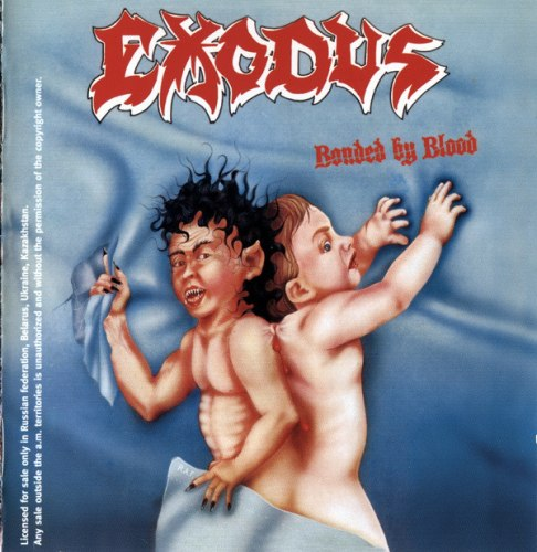 EXODUS - Bonded By Blood CD Thrash Metal