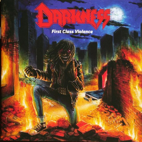 DARKNESS - First Class Violence CD Thrash Metal