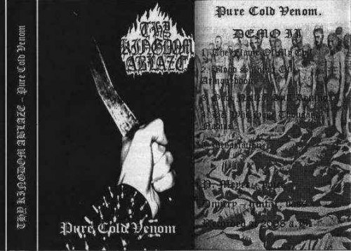 THY KINGDOM ABLAZE - Pure Cold Venom Tape Black Metal