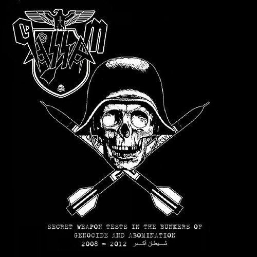 QASSAM - Secret Weapon Tests In The Bunkers Of Genocide And Abomination CD Black Metal