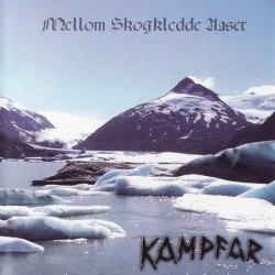 (бесплатный бонус) KAMPFAR - Mellom Skogkledde Aaser CD Pagan Metal