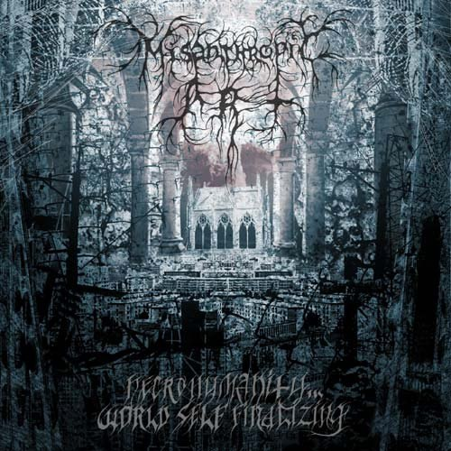 MISANTHROPIC ART - Necrohumanity - World Self Finalizing CD Black Metal