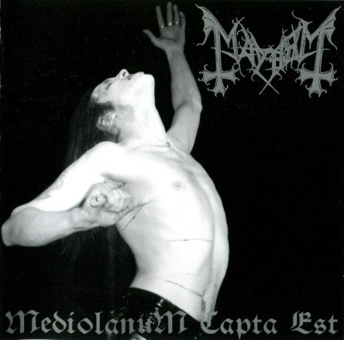 MAYHEM - Mediolanum Capta Est CD Black Metal