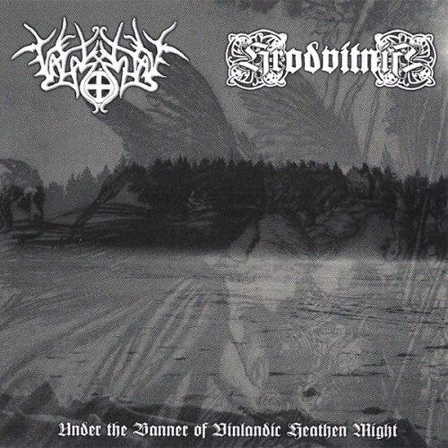 VALASKJALF / HRODVITNIR - Under The Banner Of Vinlandic Heathen Might CD NS Metal