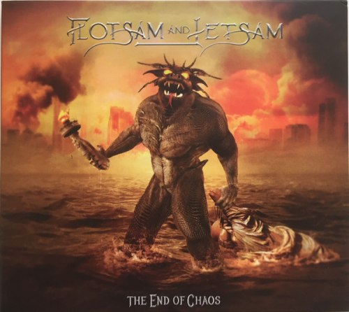 FLOTSAM AND JETSAM - The End Of Chaos Digi-CD Thrash Metal