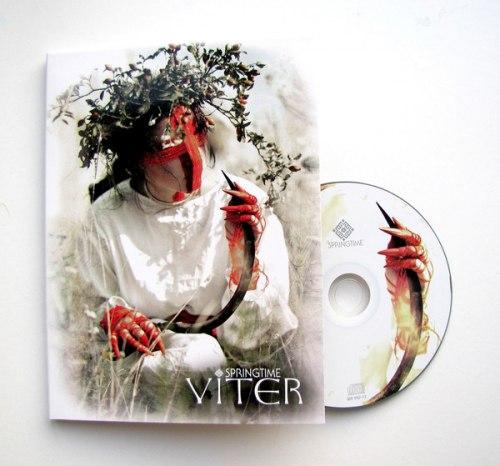 VITER - Springtime A5 Digi-CD Folk Rock