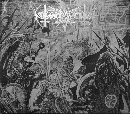 NOKTURNAL MORTUM - To The Gates Of Blasphemous Fire Digi-CD Symphonic Black Metal