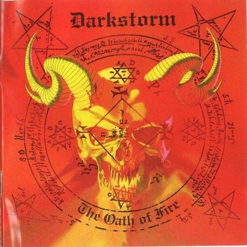 DARKSTORM - The Oath Of Fire CD Blackened Heavy Metal
