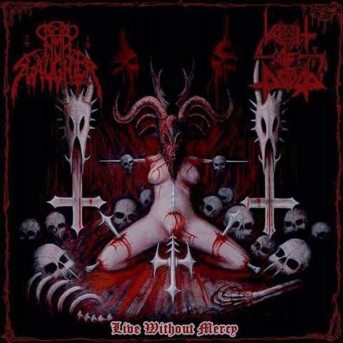 NUNSLAUGHTER / VOMIT OF DOOM - Live Without Mercy CD Thrash Metal