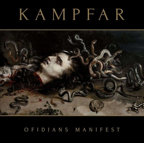 KAMPFAR - Ofidians Manifest CD Blackened Metal