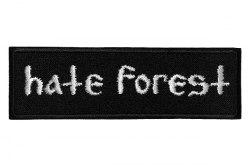 HATE FOREST - Logo Нашивка Heathen Metal