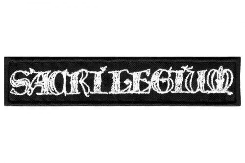SACRILEGIUM - Logo Нашивка Pagan Metal