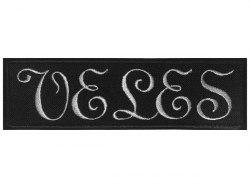 VELES - Logo Нашивка Black Metal