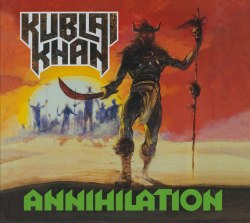 KUBLAI KHAN - Annihilation Digi-CD Speed Thrash Metal