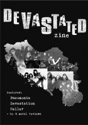 DEVASTATED zine #1 журнал Metal