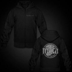 MGLA - No Solace - M Hoody Zipper Black Metal