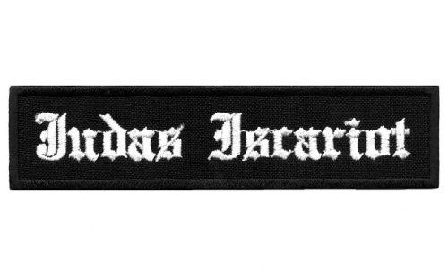 JUDAS ISCARIOT - Logo Нашивка Black Metal