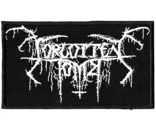FORGOTTEN TOMB - Logo Нашивка Depressive Metal
