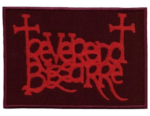 REVEREND BIZARRE - Red Logo Нашивка Doom Metal