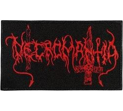 NECROMANTIA - Old Logo Нашивка Black Metal