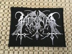 HORNA - Logo Нашивка Black Metal