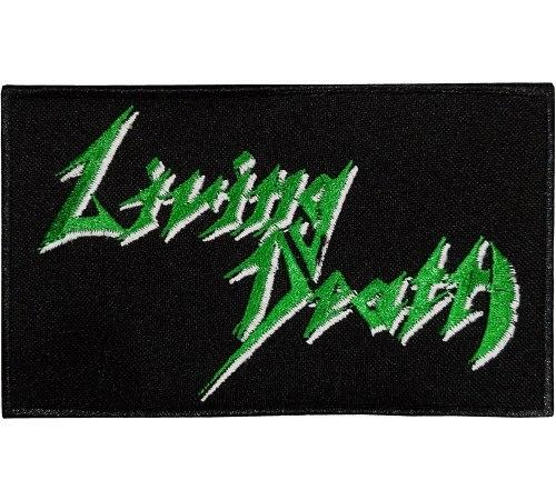 LIVING DEATH - Logo Нашивка Speed Thrash Metal