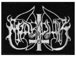 MARDUK - Old Logo Нашивка Black Metal