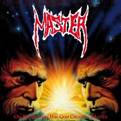 MASTER - On The Seventh Day God Created... Master LP Thrash Death Metal