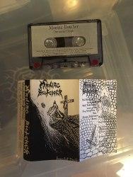 MANIAC BUTCHER - Immortal Death Tape Black Metal
