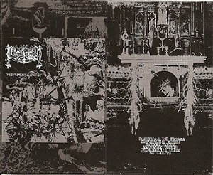 LUCIFUGUM - The Supreme Art of Genocide Tape Black Metal