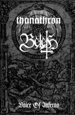 BELETH / THANATHRON - Voice Of Inferno Tape Black Metal