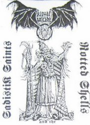 RITUAL SUICIDE - SadistiK Saints And The Rotted Shells Tape Black Metal