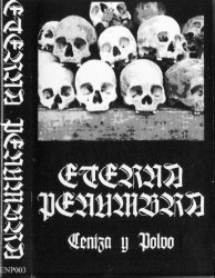 ETERNA PENUMBRA - Ceniza Y Polvo Tape Black Metal