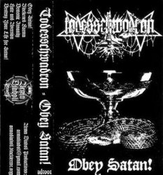 TODESSCHWADRON - Obey Satan! Tape Black Metal