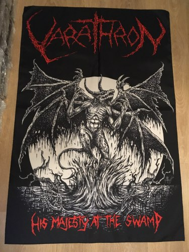 VARATHRON - His Majesty at the Swamp Флаг Black Metal