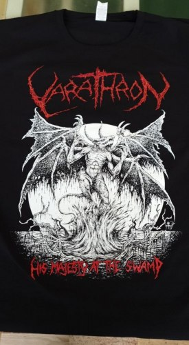 VARATHRON - His Majesty at the Swamp - M Майка Black Metal