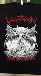 VARATHRON - His Majesty at the Swamp - XXL Майка Black Metal